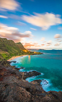 The coast of Hawaii