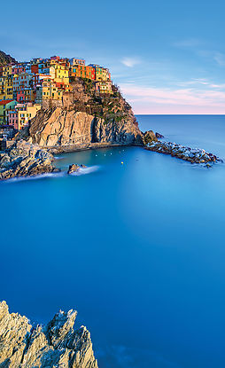 homes on the coast of Italy